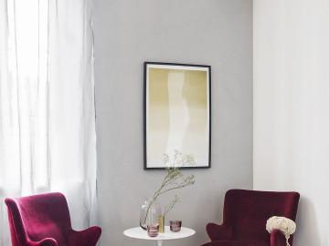 用色彩点缀黑白灰 现代简约风格