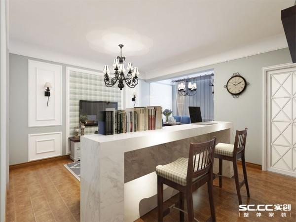 轻美式风格二居一品漫城客厅装修效果图片 装修美图 新浪装修家居网