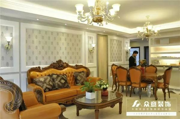 欧式简约客厅装修效果图片 装修美图 新浪装修家居网看图