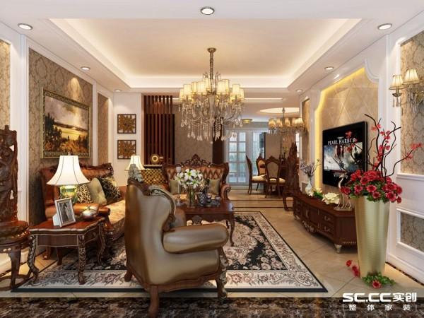 欧式三居婚房装修客厅装修效果图片 装修美图 新浪装修家居网看图装修