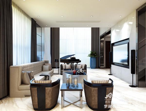 后现代别墅别墅装修衣帽间个性澳华装饰客厅装修效果图片