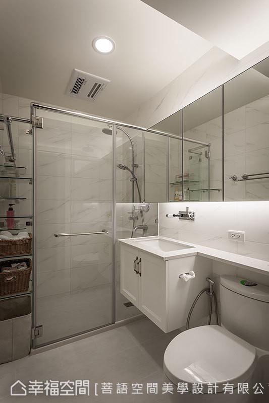 一居小户型乡村简约收纳卫生间装修效果图片 装修美图 新浪装修家居