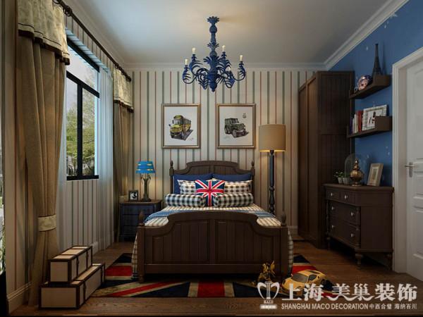 正商城3号楼4室2厅140平米样板房新中式风格装修案列 卧室装修效果图高清图片