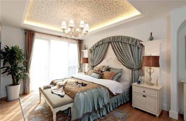 80后小资四居地中海卧室装修效果图片 装修美图 新浪装修家居网看